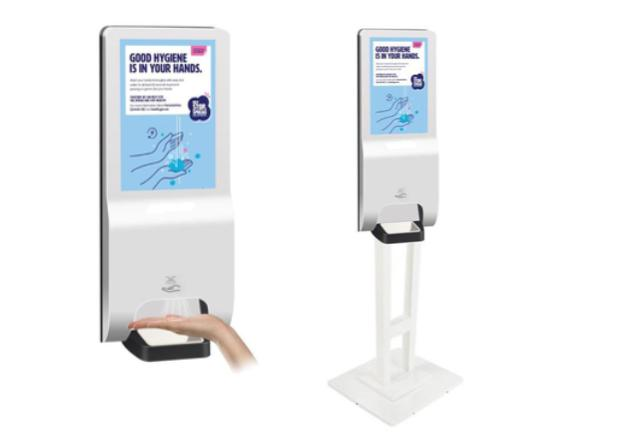 LCD Digital Hand Sanitizer