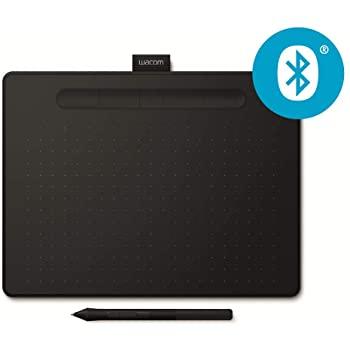 Wacom Intuos M Digitizer, Bluetooth Pen Tablet